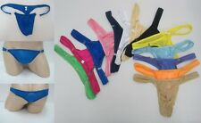 """new sexy Low-waist men's underwear  thong silky feel size 27-38"""" 14 colors #337Y"""