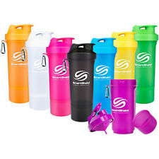 New SLIM SmartShake Smart Shake Protein Shaker Mixer Cup 500ml - All colours