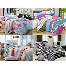 Ardor Doona Duvet Quilt Cover Set Single Double Queen King Size Bed