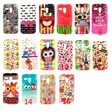 OWL Watermelo​n Cake Pattern Silicone Soft TPU Back Case Cover For MOTO G XT1028