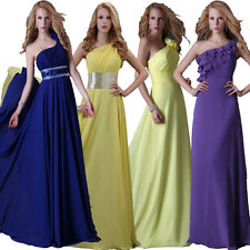 Homecoming New Wedding Evening Formal Party Ball Gown Bridesmaid Long Prom Dress