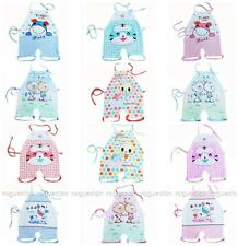 0-36 Months Soft Cotton straps Open Crotch style Bibs Romper Bellyband Bodysuit