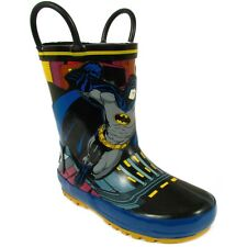 DC Comics Batman Boys Black Rain Boots BMS500 7 8 9 10 11 12