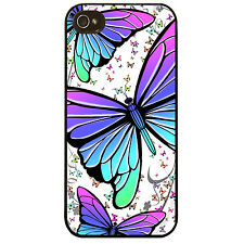Cover for Iphone 5 5S Butterfly colourful pretty butterfly pattern phone case