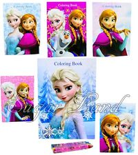 Disney Frozen Coloring Book Anna Elsa Olaf Party Bags Fillers Teacher Rewards