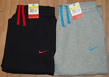 Nike Fleece Jog Bottoms Jogging Sweat Pants Joggers Tracksuit Gray Black BNIB