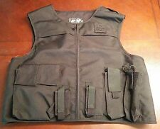 Second Chance Black Fixed Pocket Tactical Outer Carrier Brand New