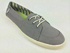 "VANS. ""Surf Siders"" PALISADES Women's Classic Fit Shoes. GREY US W 10 10.5 & 11."