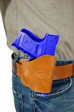 New Barsony Saddle Tan Leather Yaqui Gun Holster Astra Beretta Compact 9mm 40 45