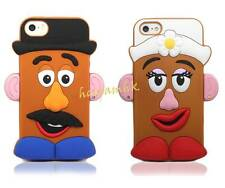 3D Toy Story Disney Mr Potato Head Couple Silicone Soft Case For iPhone 4/4S5/5S