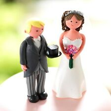 Culpitt Claydough Wedding Cake Toppers Bride And Groom Character Decorations