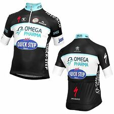 Jersey Omega Pharma QuickStep 2014 by Vermarc short zip
