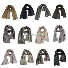 Camo Mesh Scarf Outdoor Jungle Muffler Breathable Headband Tactical   BEST