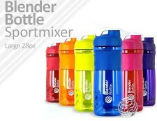 NEW Blender Bottle SportMixer 28oz Large Shaker Protein Mixer Mixing Wire Whisk