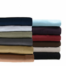 Olivia Branch 1800 Thread Count Bed Sheet Set 12 Colors Full Queen King Cal King