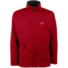 Antigua Men's St. Louis Cardinals Traverse Fleece Back Full-Zip Jacket