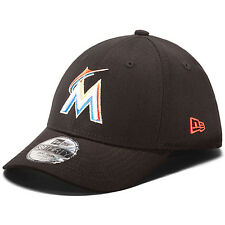 NEW ERA Youth Miami Marlins Tie Breaker 39THIRTY Structured Stretch Fit Cap