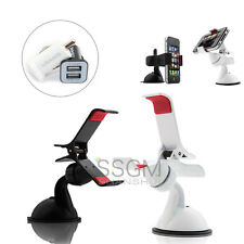 Genuine Car Phone Holder Windshield Dashboard Mount Stand For Galaxy Note HTC