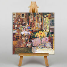 LARGE WALL ART 20x20 Inch - Childe Hassam The Room of Flowers