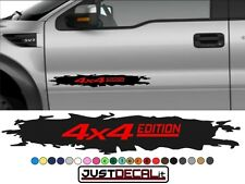 Truck Door 4x4 Edition decal Graphic Bed Stripe SUV 4x4 car truck