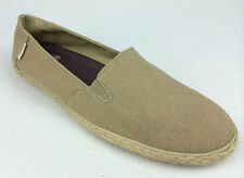"VANS. ""Surf Siders"" BIXIE Women's Classic Fit Shoes. Khaki HEMP. US W 10.5 & 11."