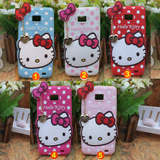 3D Hello Kitty Chat Silicone étui housse coque pour SAMSUNG GALAXY S2 I9100