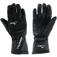 Thermal Insulated Motorcycle Biker Winter sports Leather Textile Gloves A-Pro
