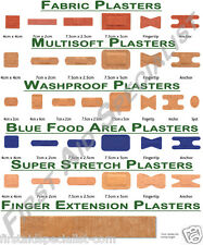 First Aid Plasters Fabric, Multisoft, Washproof, Blue Detectable, Super Stretch