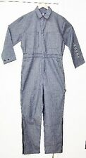 USA Works #900 Coveralls Fisher Stripe