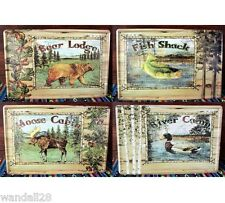 Outdoor Holiday Nature Cottage Field Camp Adventure Inn Tin Sign Metal Art Decor