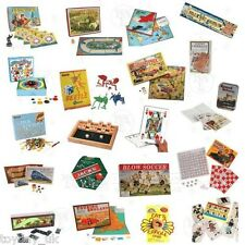 Retro Classic Games House of Marbles Family Board Games NEW £2.95 Flat P&P UK