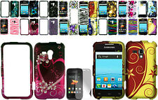 Any Design Case+1 Free Screen Protector For Samsung Galaxy Rush SPH-M830 Phone