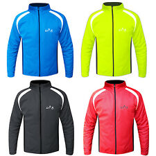 Cycling Jacket Full Sleeves Windproof Cycle Cold Weather Jacket Jersey