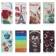 Hard 2014 Wallet PU Leather Case Cover Skin For For LG Optimus L90 D415 D405