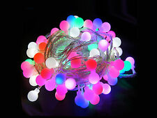 13ft 40LED Fairy String Light Battery Operated Ball Shape 8 Colors for Choice