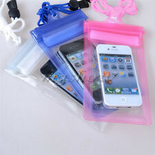 New Waterproof Underwater Transparent Pouch Bag Dry Case Cover For Mobile Phones