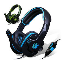 HiFi Stereo SADES 7.1 Surround Stereo Headset Earphone Pro Gaming With Mic