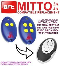 BFT MITTO 2A, BFT MITTO4A Universal remote control transmitter replacement,fob