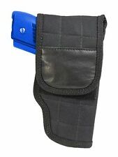 New Barsony OWB Flap Gun Belt Holster for Kel-Tec, Kimber Sccy Compact 9mm 40 45