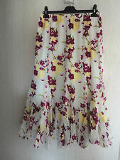 BNWT Multicolour Lined Floral Long Skirt By Kaleidoscope RRP £38 Various Sizes