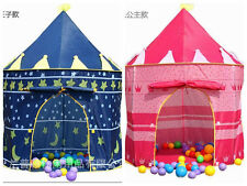 CHILDRENS KIDS POP UP CASTLE TENT PLAYHOUSE GIRLS/BOYS WIZARD DEN CHILDS GIFT