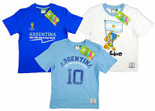 Kids 2014 World Cup Value Pack of 3 FIFA  Argentina T-Shirts Tops Tee 2-16 Years
