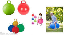 Therapy Gym Huge HiHoppers Kids Adults HOPPER JUMP BALL Bounce Hop Handle Knobby