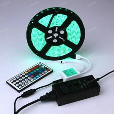 1M - 20M RGB 5050 5m 10m 15m 20m SMD 300LED Strip Light With Remote Power Supply