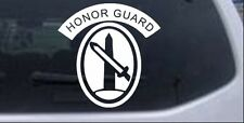 US Army Honor Guard Car or Truck Window Laptop Decal Sticker