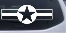 Army Star And Bars Car or Truck Window Laptop Decal Sticker