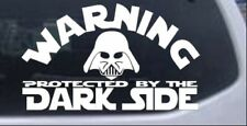 Star Wars Darth Vader Dark Side Car or Truck Window Laptop Decal Sticker