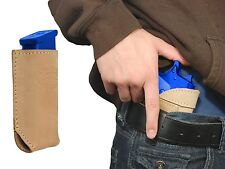 New Barsony Tan Leather IWB Holster + Mag Pouch Smith&Wesson Full Size 9mm 40 45
