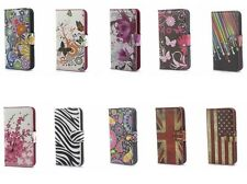2014 Hot New arrive PU Leather Flip case cover & wallet Card slot for LG Mobile