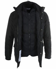 STONE ISLAND MICRO REPS DOWN JACKET RRP £610 - COOL GREY
